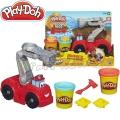 Hasbro - Play-doh Diggin'Rigs Комплект Пожарна с пластелин А5418