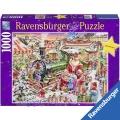 Пъзел 1000 части Дядо Коледа Ravensburger