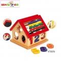 Benho Образователна дървена къщичка YT979