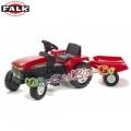 FALK 872 Red - Трактор с педали и ремарке